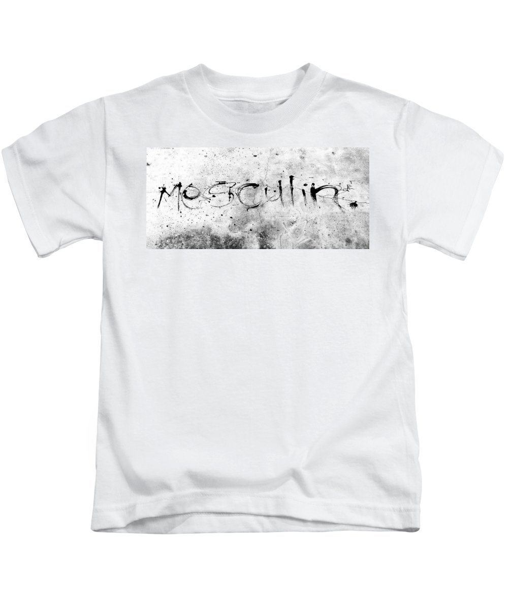Mesculin Kids T-Shirt featuring the photograph Mesculin by Steve Taylor
