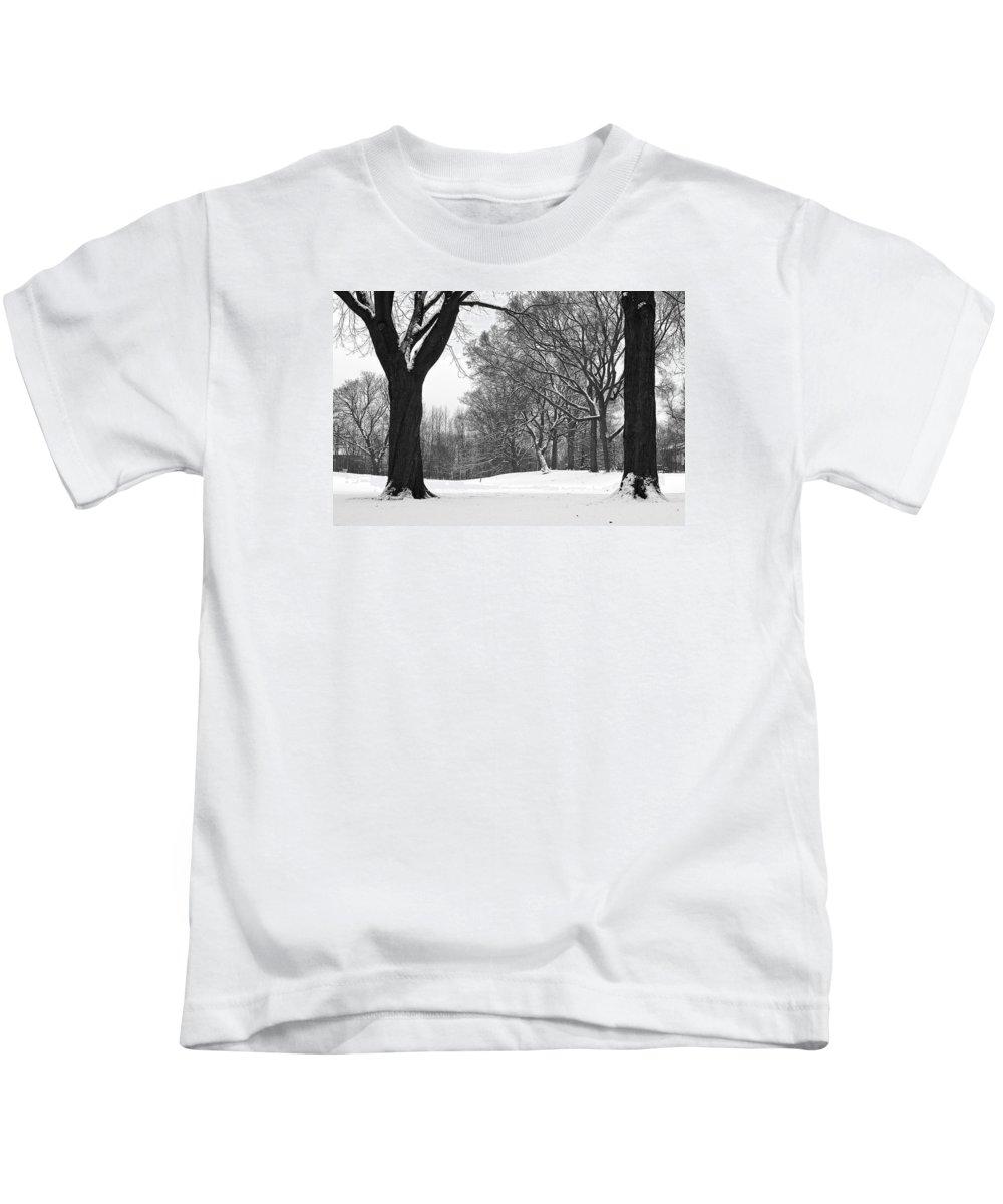 Monarch Park Kids T-Shirt featuring the photograph Monarch Park - 324 by Rick Shea