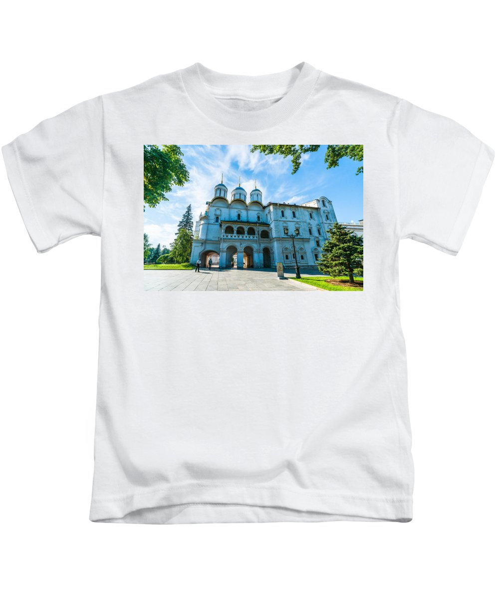 Moscow Kids T-Shirt featuring the photograph Moscow Kremlin Tour - 19 Of 70 by Alexander Senin