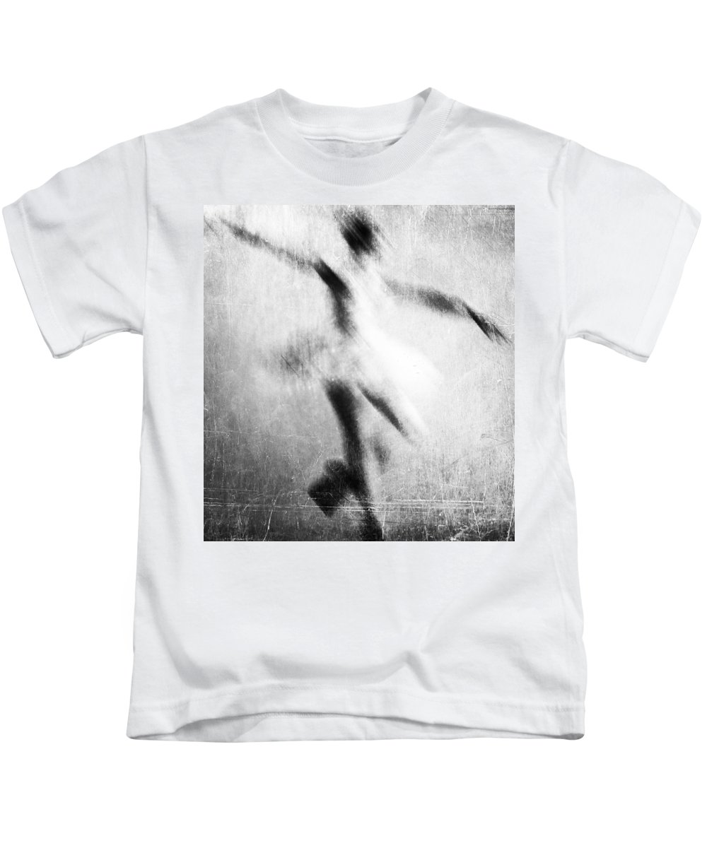 Dance Kids T-Shirt featuring the photograph My Hand In Dance by The Artist Project