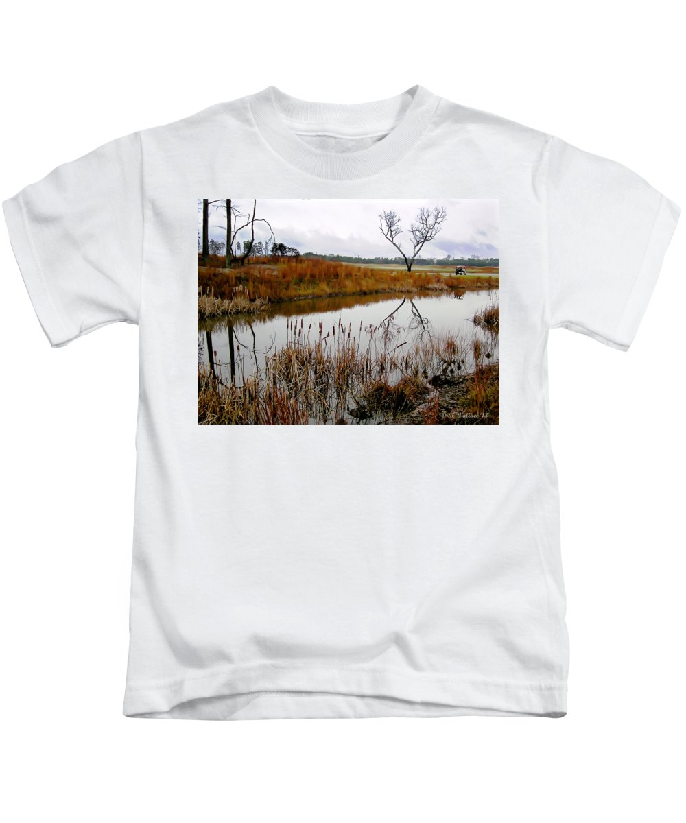 2d Kids T-Shirt featuring the photograph O X by Brian Wallace