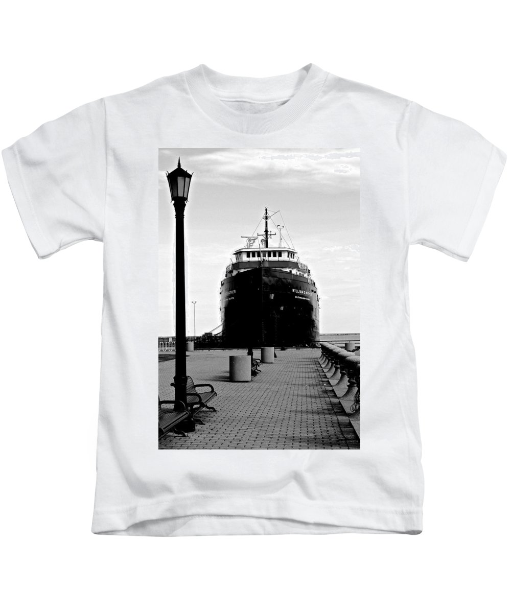 Ship Kids T-Shirt featuring the photograph Postcard Perfect by Frozen in Time Fine Art Photography