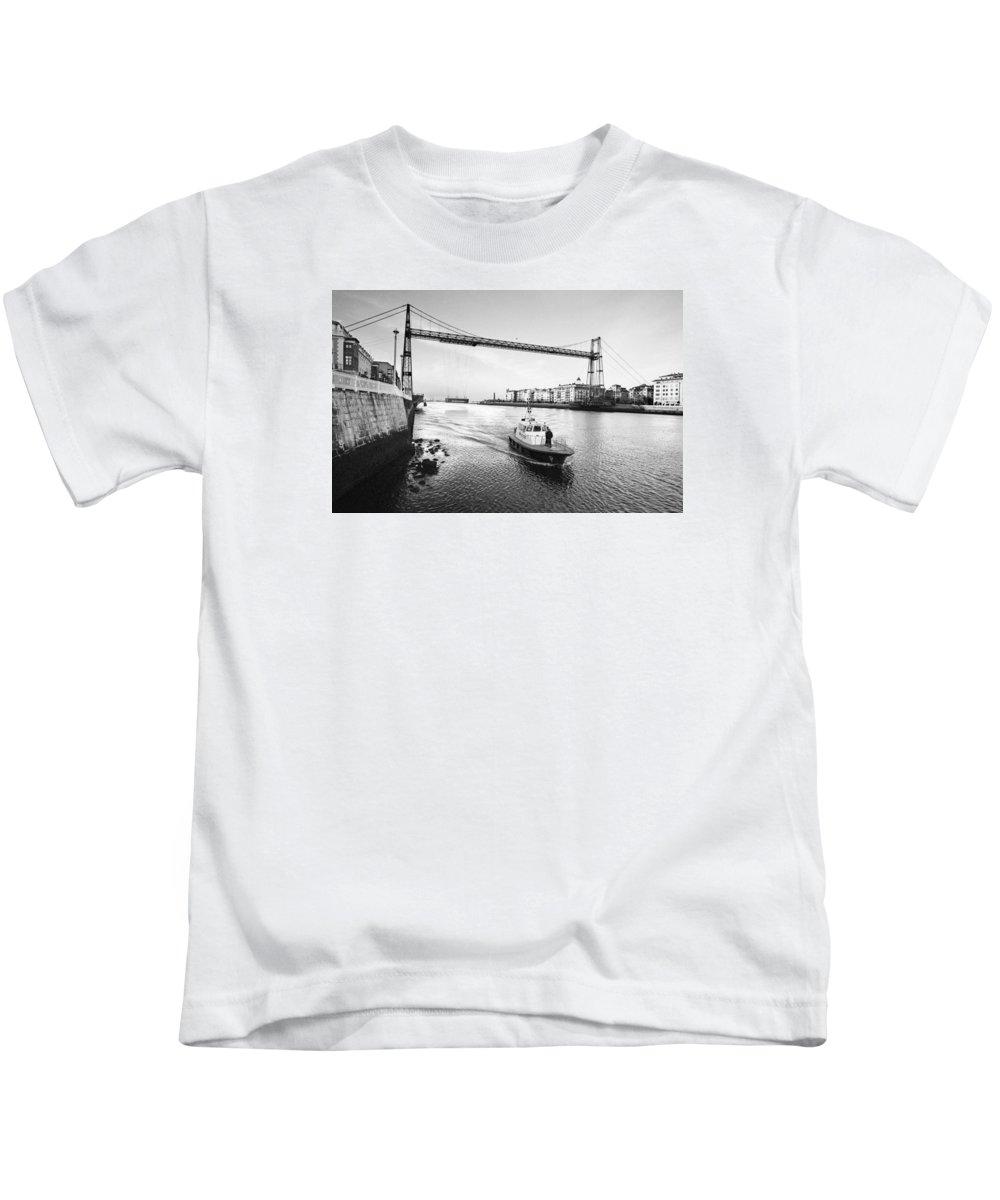 Basque Kids T-Shirt featuring the photograph Puente Colgante V by Rafa Rivas