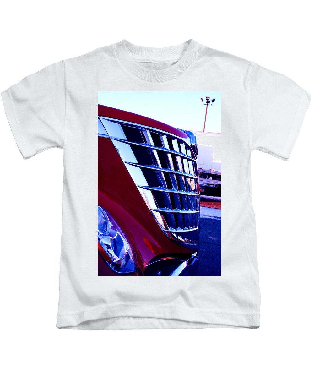 Jamie Lynn Gabrich Kids T-Shirt featuring the photograph Push by Jamie Lynn