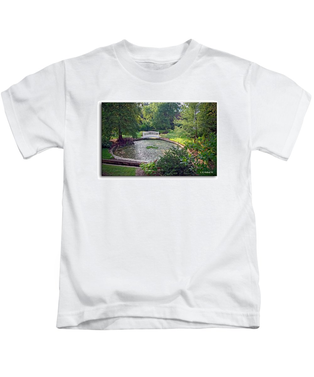 2d Kids T-Shirt featuring the photograph Quiet Reflection by Brian Wallace