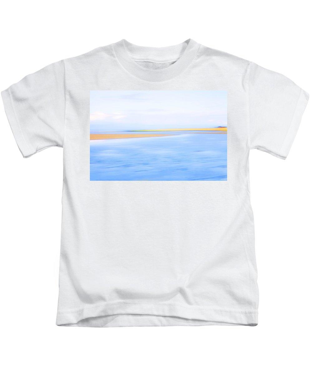 Sea Kids T-Shirt featuring the photograph Rising Tide by Theresa Tahara