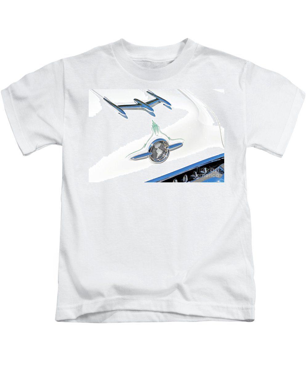 David Lawson Photography Kids T-Shirt featuring the photograph Rocket Car by David Lawson