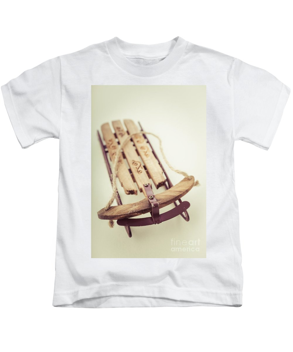 Rosebud Kids T-Shirt featuring the photograph Rosebud by Edward Fielding