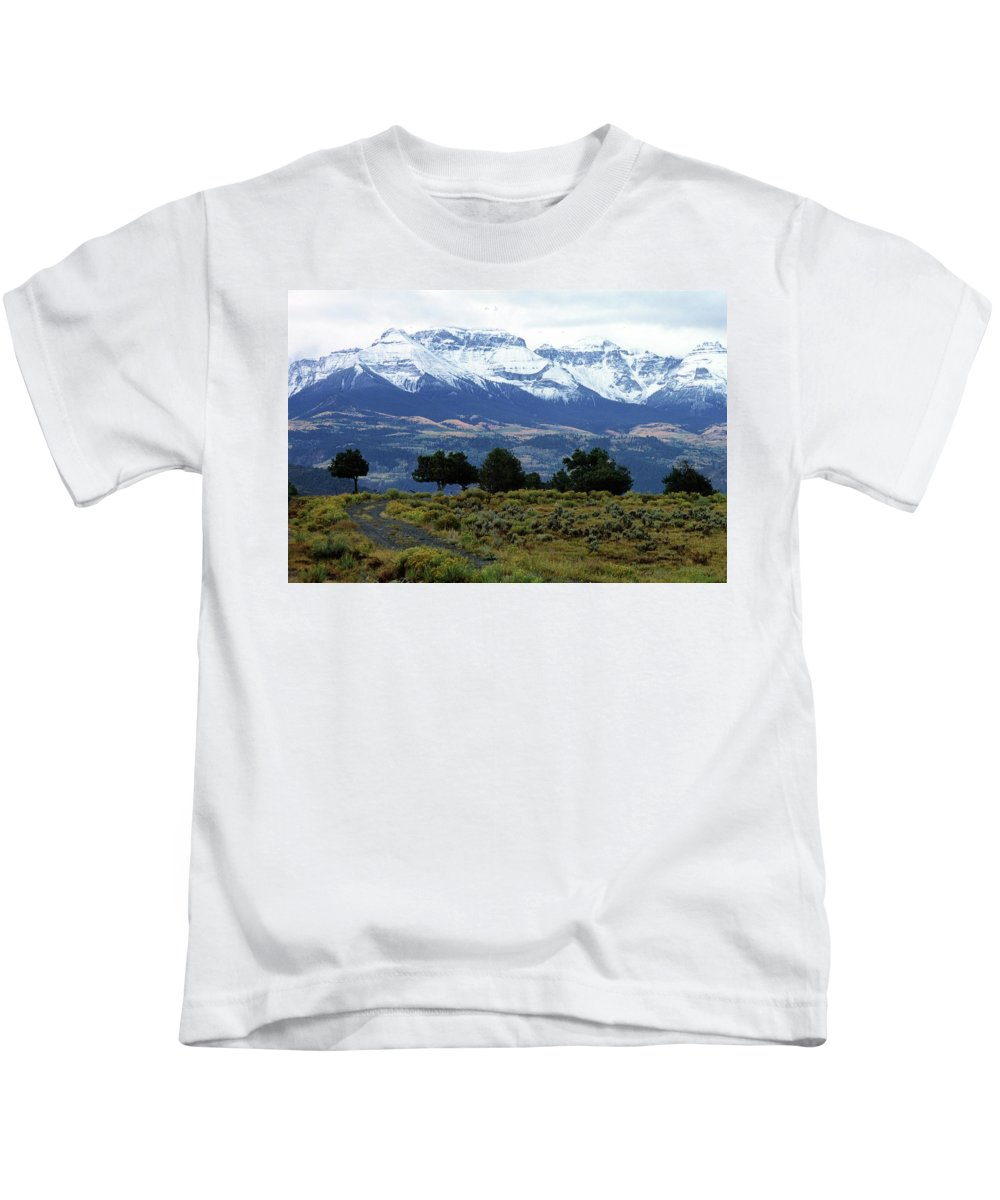 Colorado Kids T-Shirt featuring the photograph Speaking In Silence by Eric Glaser