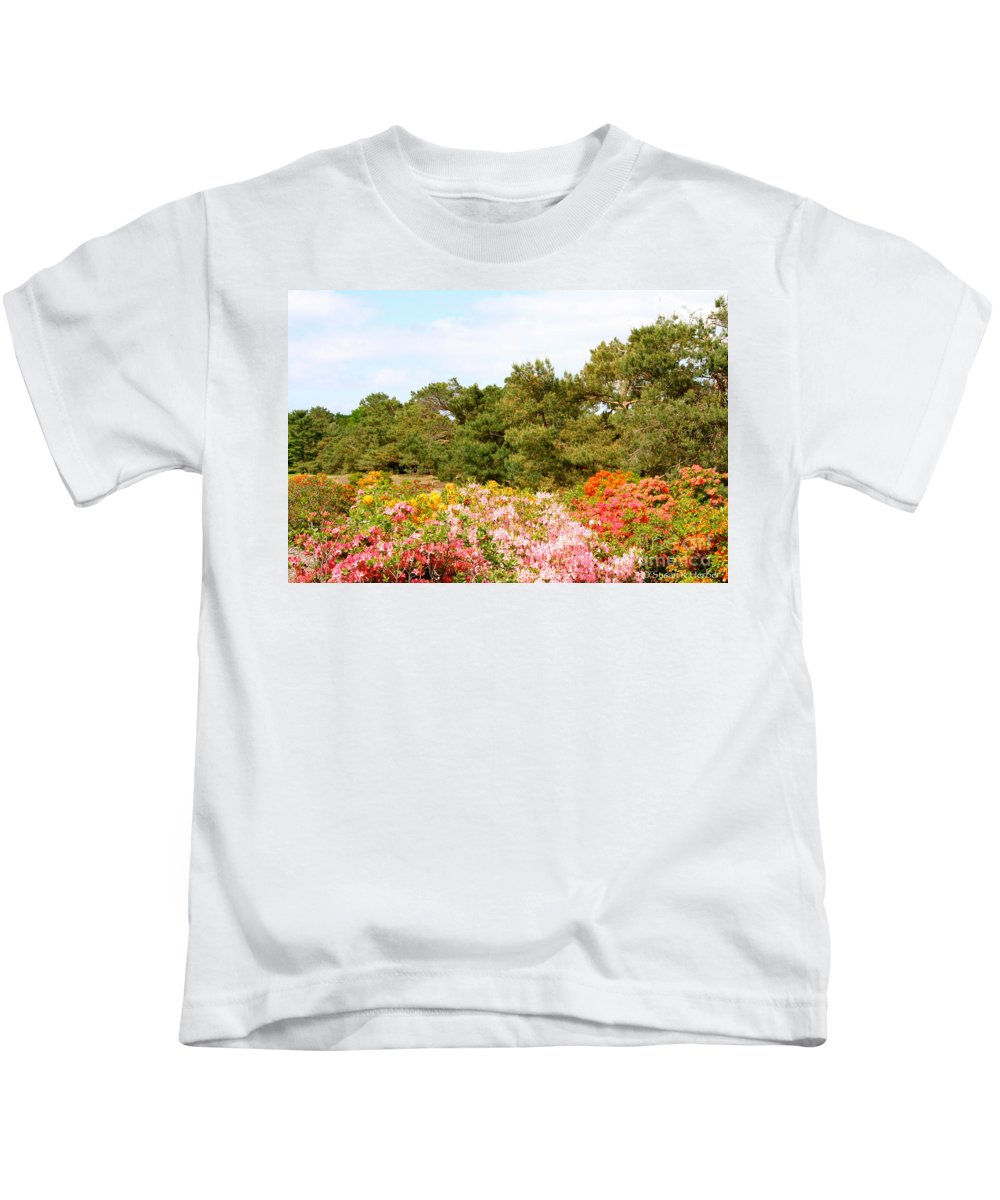 Flower Kids T-Shirt featuring the photograph Summer Scenes by Susan Herber