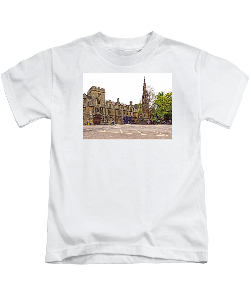 Bishop Kids T-Shirt featuring the photograph The Martyr's Memorial by Marilyn Holkham