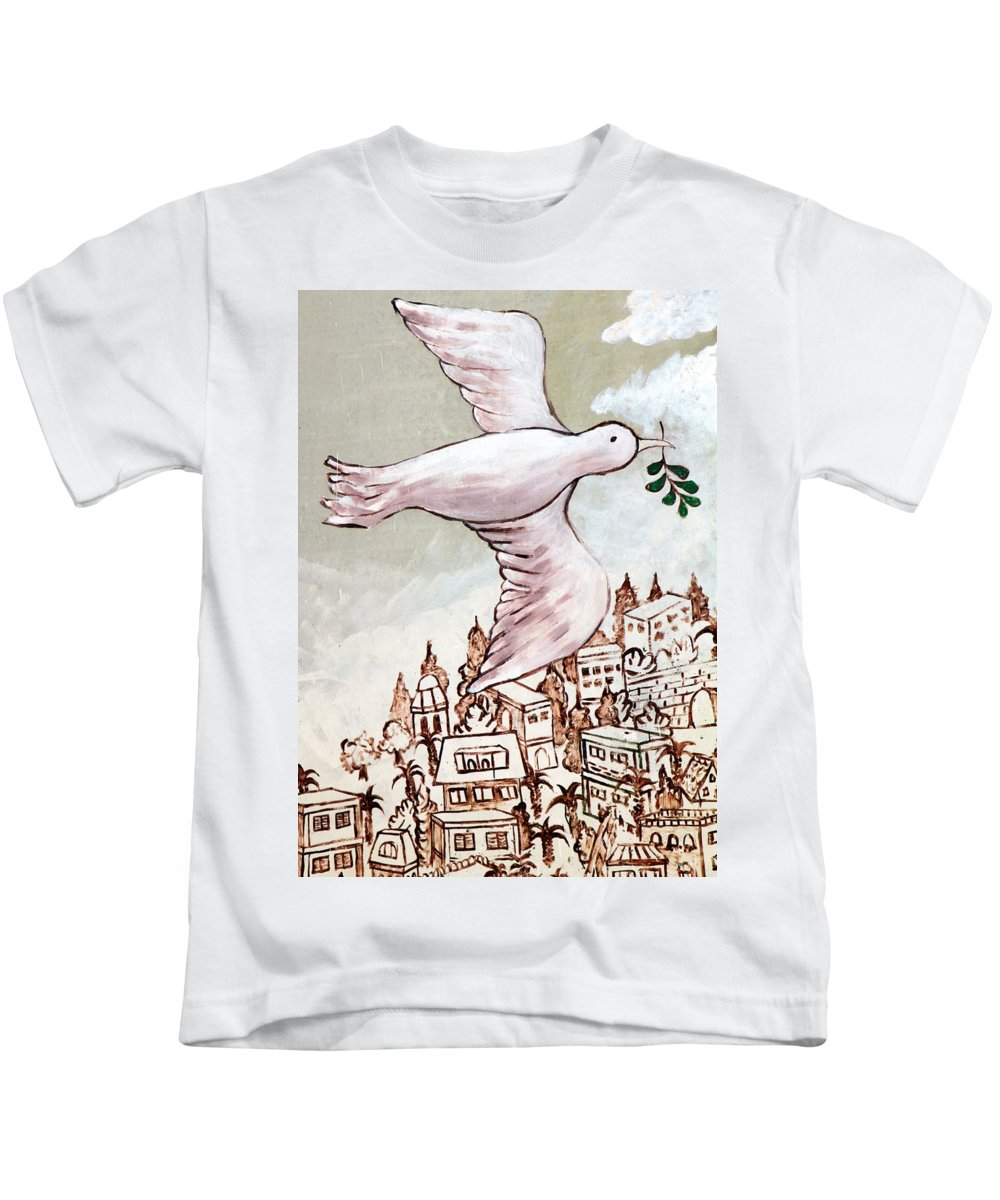 Messenger Kids T-Shirt featuring the photograph The Messenger by Munir Alawi