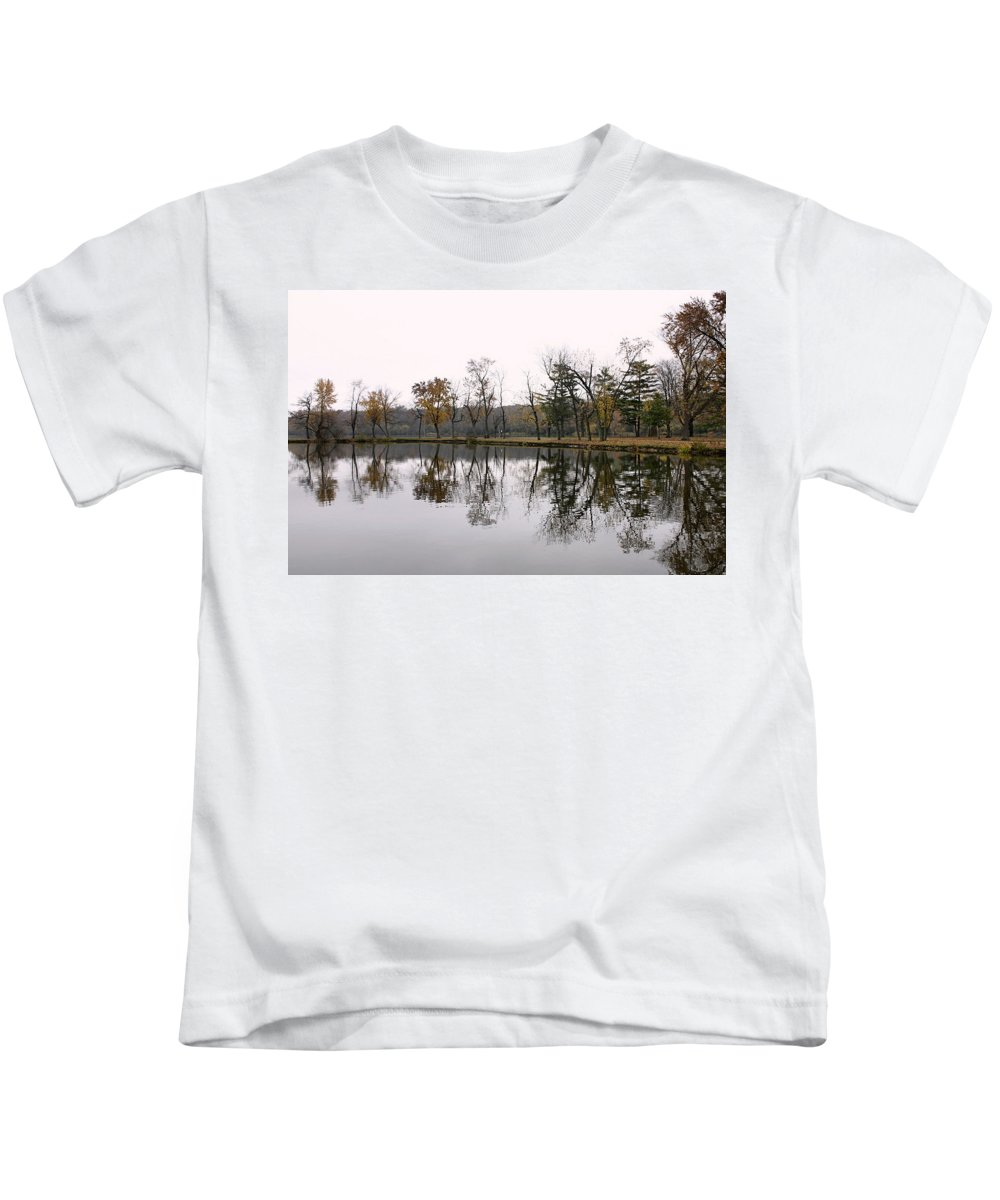 Lake Kids T-Shirt featuring the photograph Tranquil Reflections by Ely Arsha