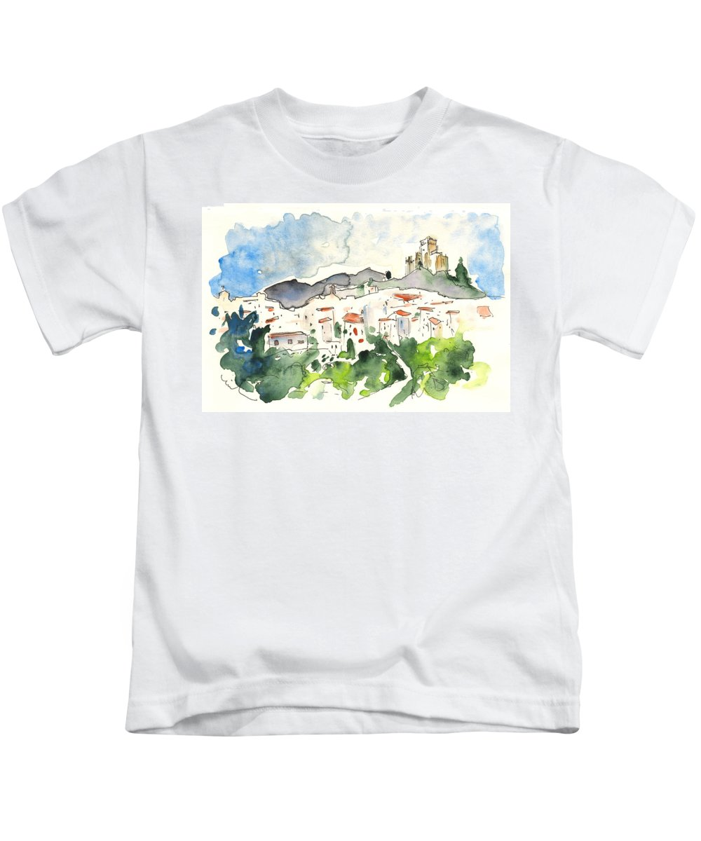Travel Kids T-Shirt featuring the painting Velez Blanco 04 by Miki De Goodaboom