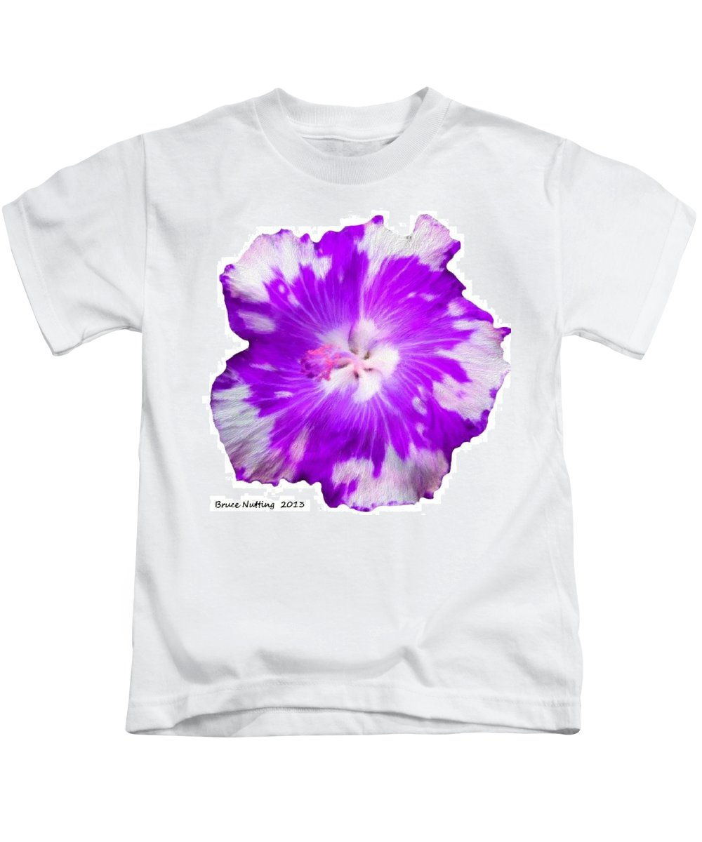 Violet Kids T-Shirt featuring the painting Violet Appaloosa by Bruce Nutting
