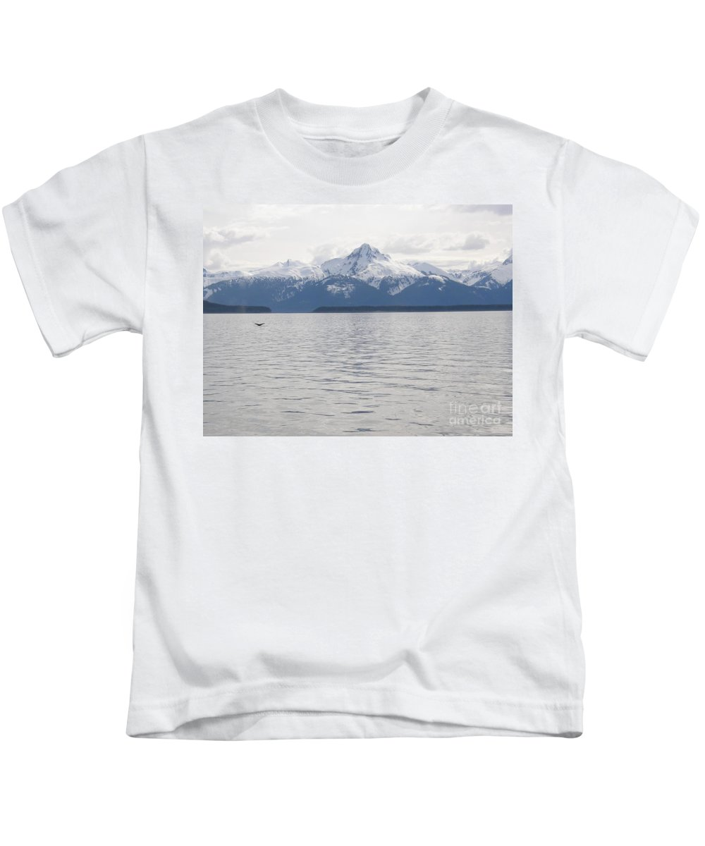 Whale Tail Kids T-Shirt featuring the photograph Whale Tail by Bev Conover