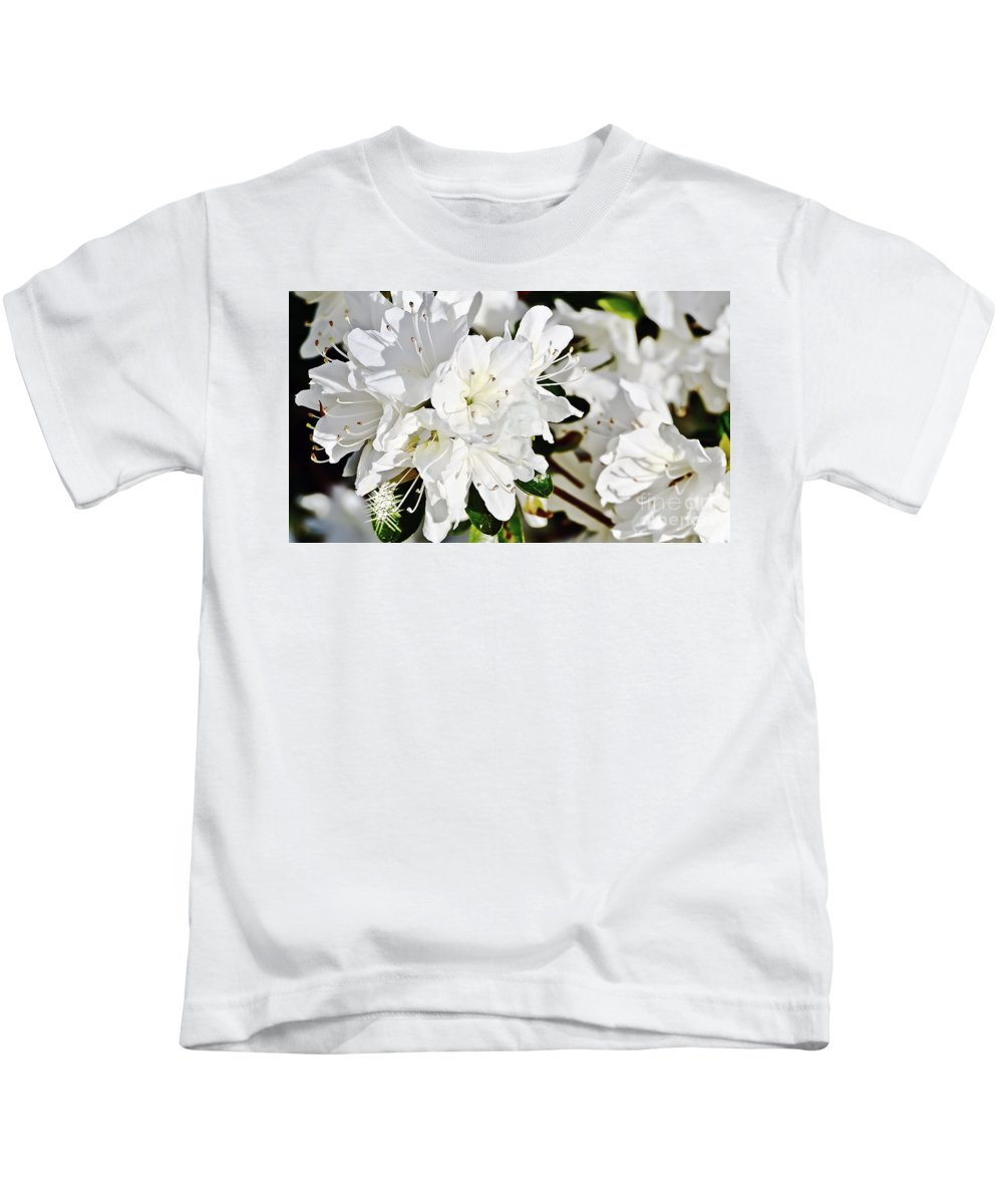 Landscape Kids T-Shirt featuring the photograph White On White by Elvis Vaughn