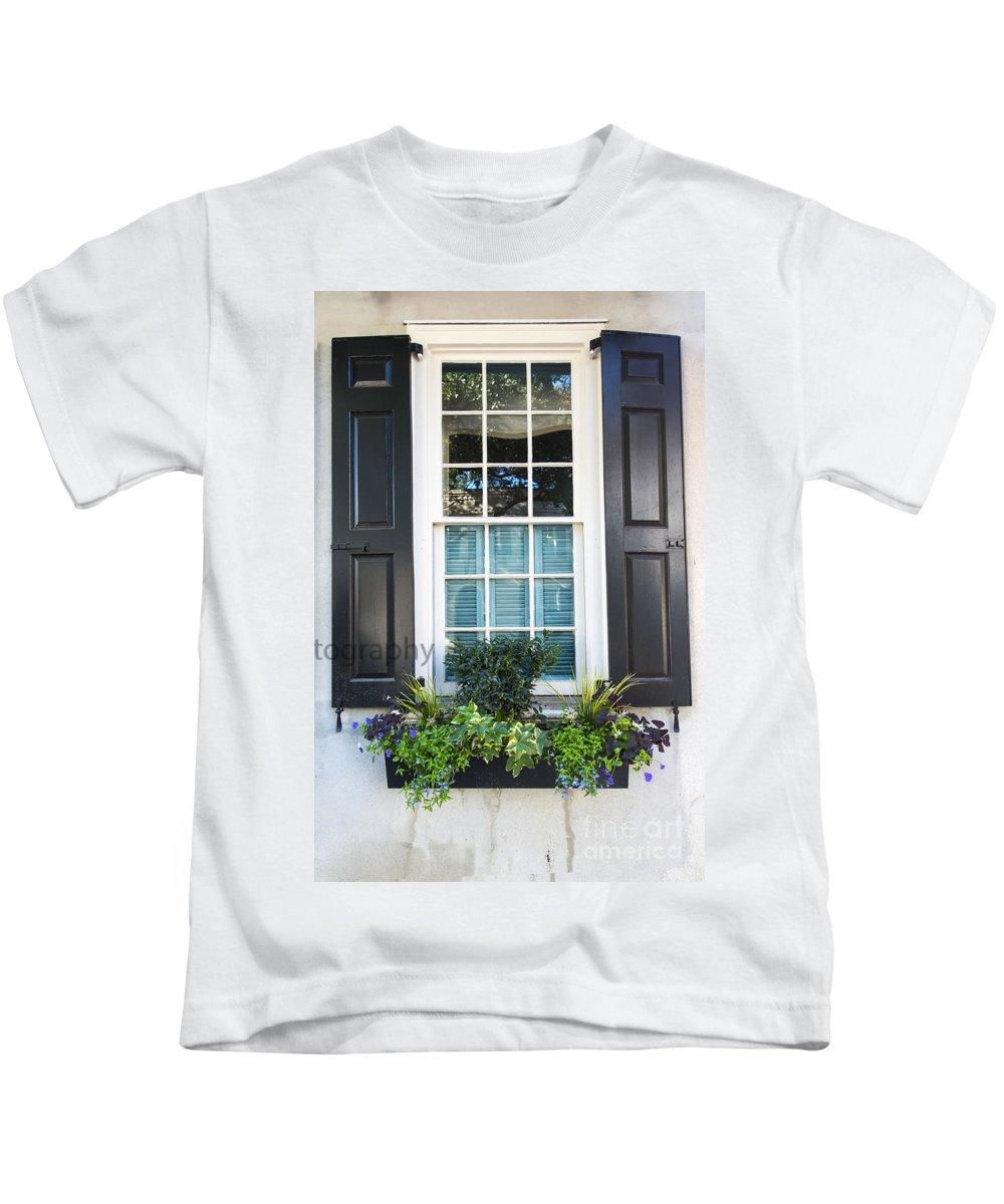 Window Kids T-Shirt featuring the photograph Window Xi by Bruce Bain