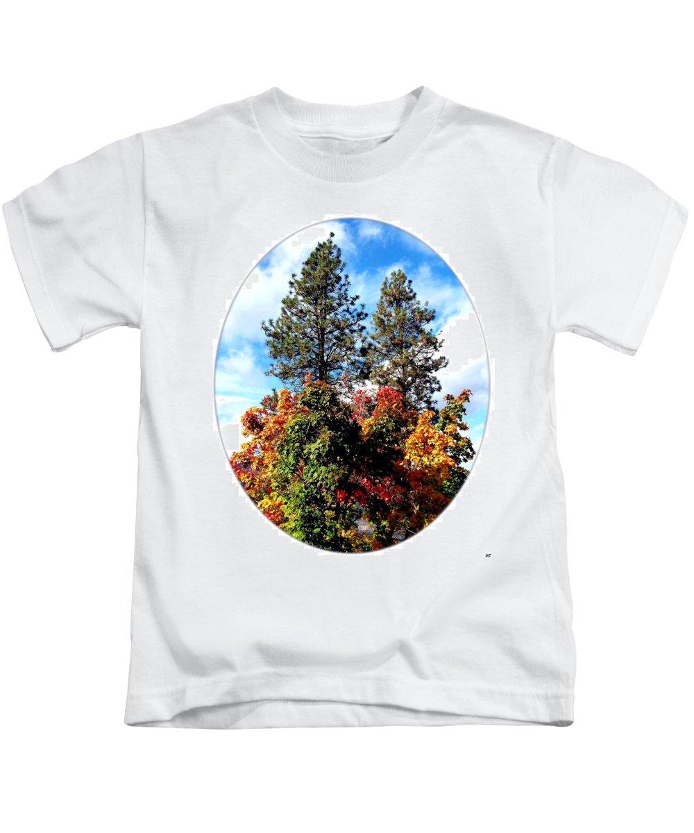 Autumn Beginnings Kids T-Shirt featuring the photograph Autumn Beginnings by Will Borden