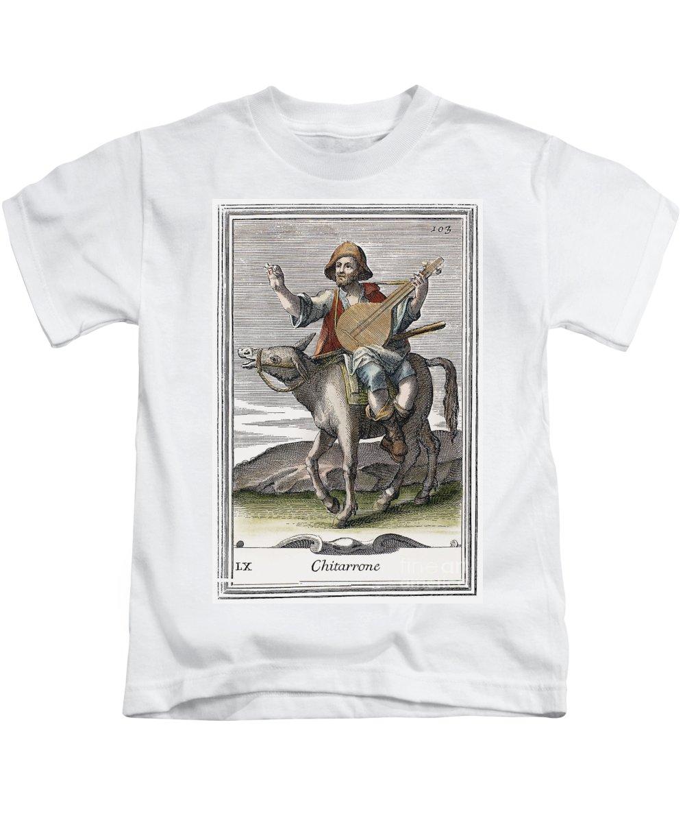 1723 Kids T-Shirt featuring the photograph Guitar, 1723 by Granger