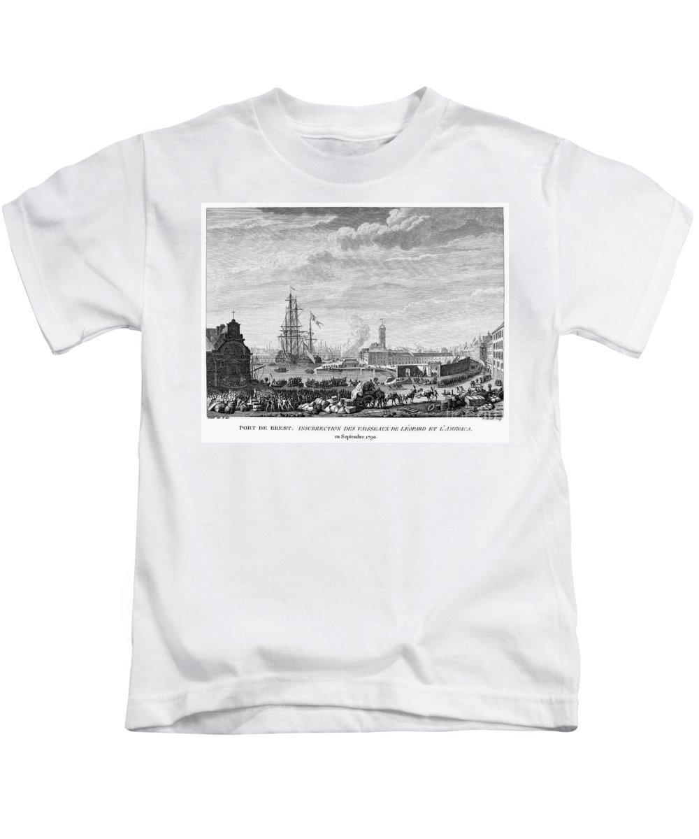 1790 Kids T-Shirt featuring the photograph French Revolution, 1790 by Granger