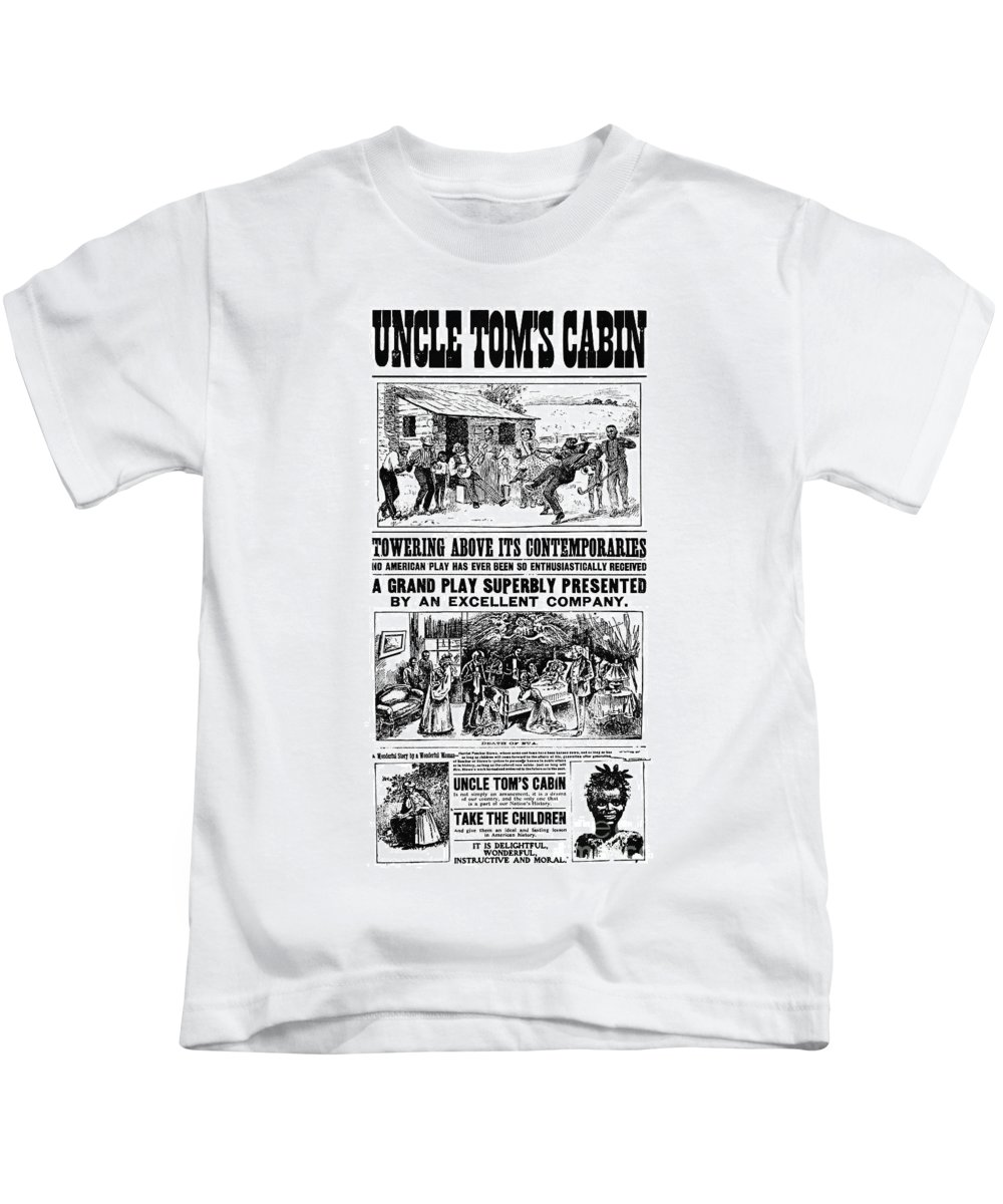 19th Century Kids T-Shirt featuring the photograph Uncle Toms Cabin by Granger