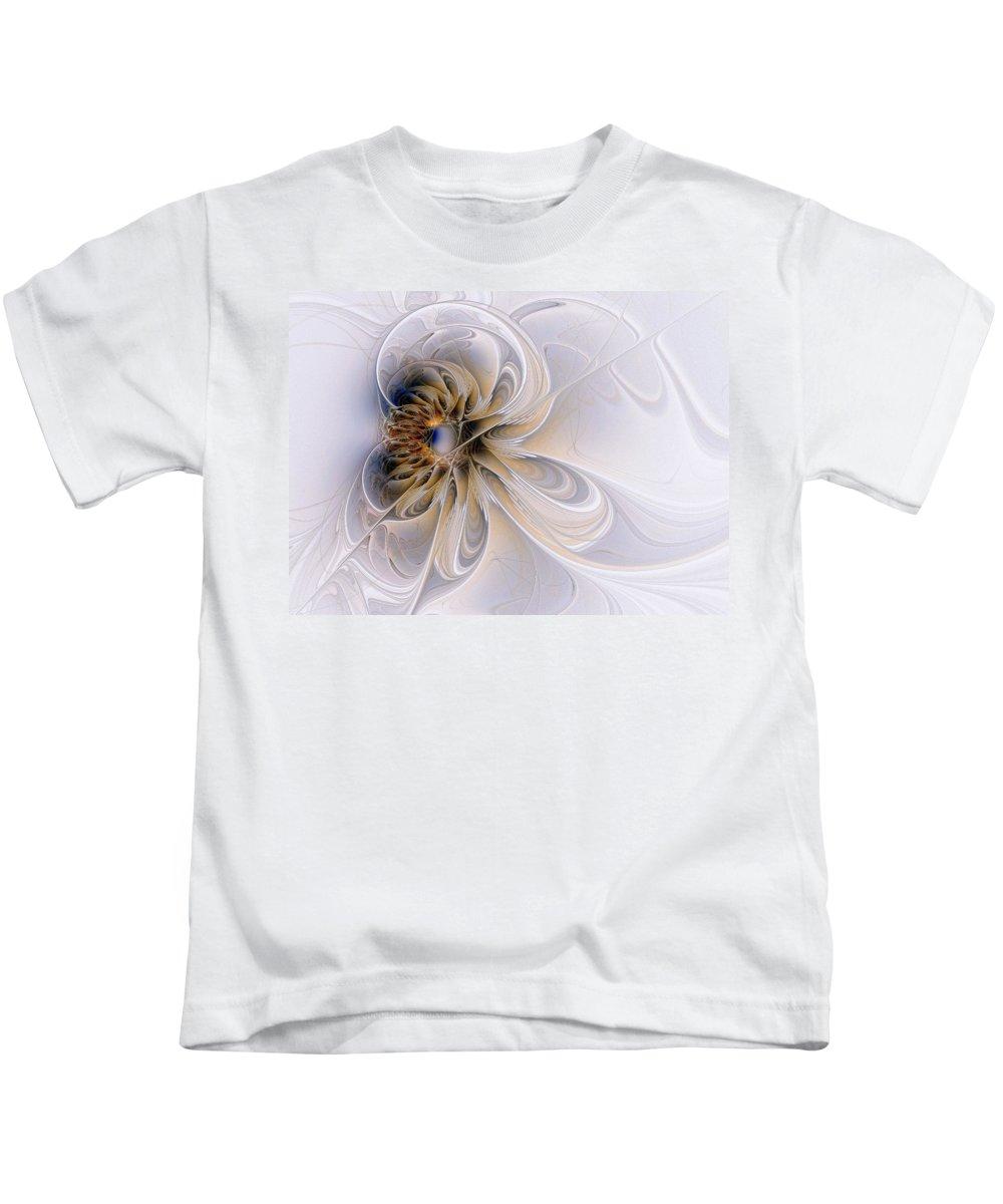 Digital Art Kids T-Shirt featuring the digital art A Keepsake by Amanda Moore