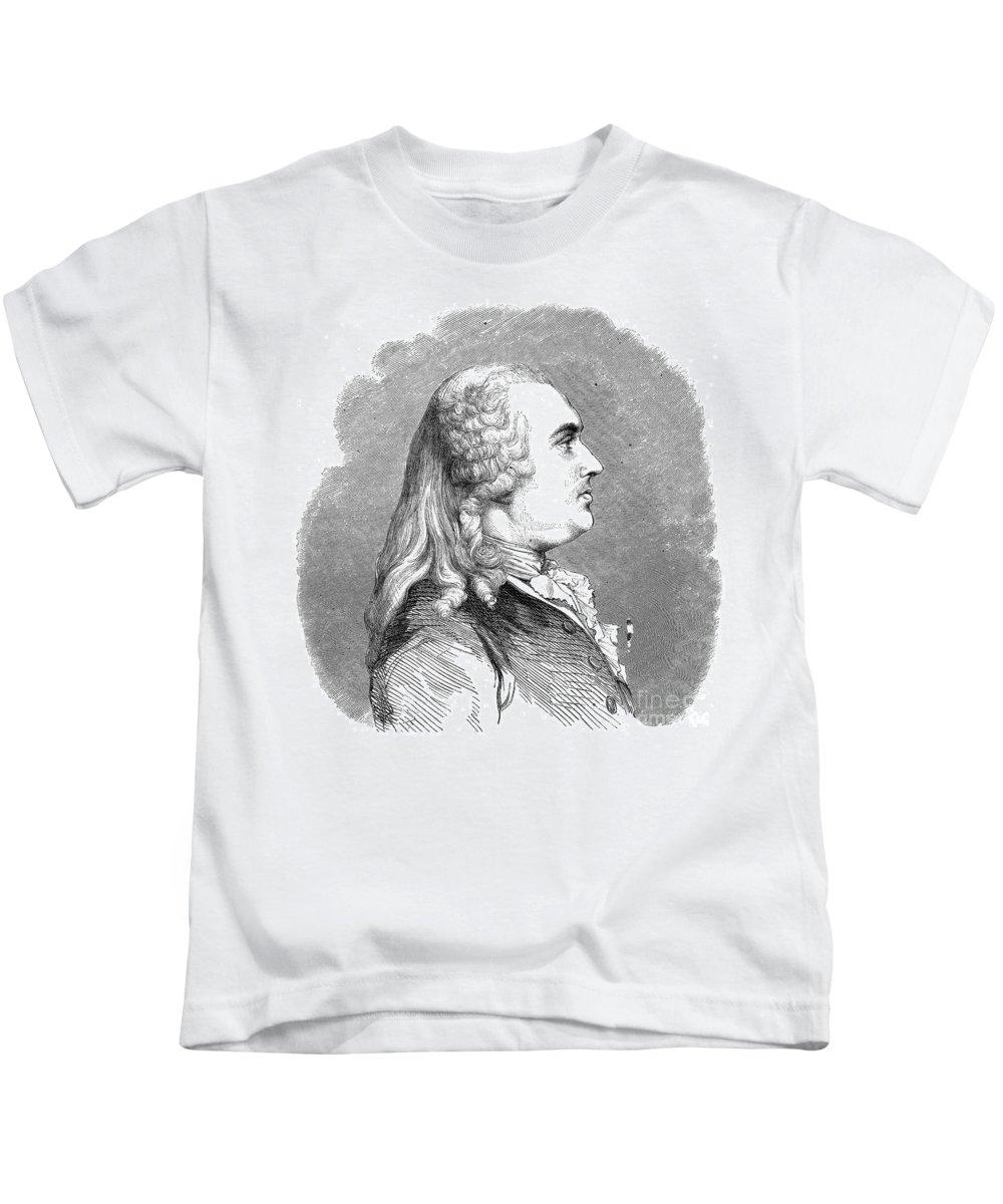 18th Century Kids T-Shirt featuring the photograph Anne Robert Turgot by Granger