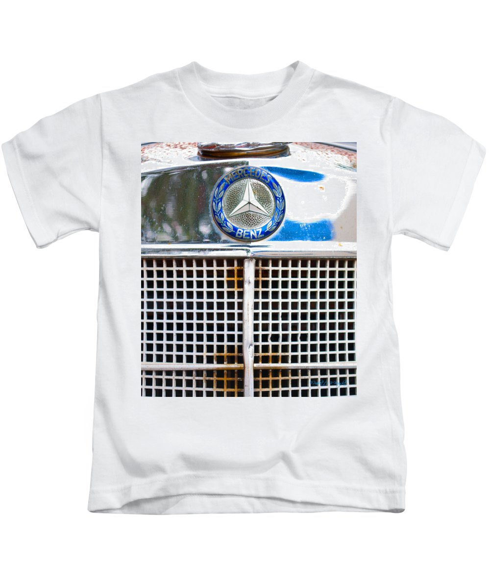 Interior Design Kids T-Shirt featuring the photograph Benz by Paulette B Wright