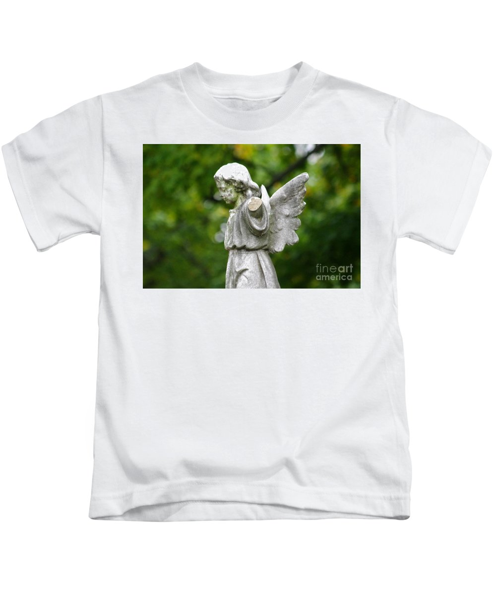 Cemetery Kids T-Shirt featuring the photograph Broken Angel by J M Lister