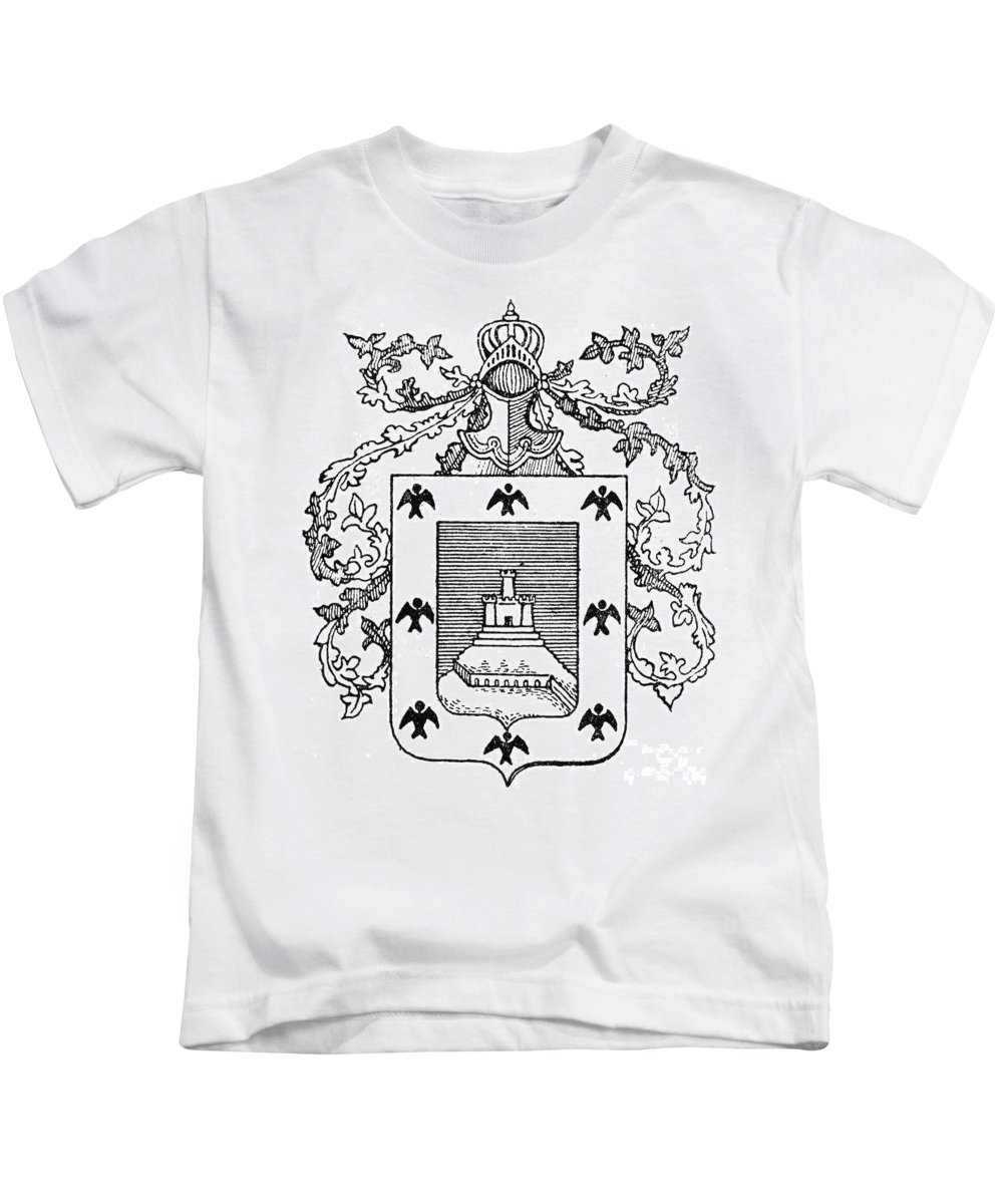 City Kids T-Shirt featuring the photograph Cusco: Coat Of Arms by Granger