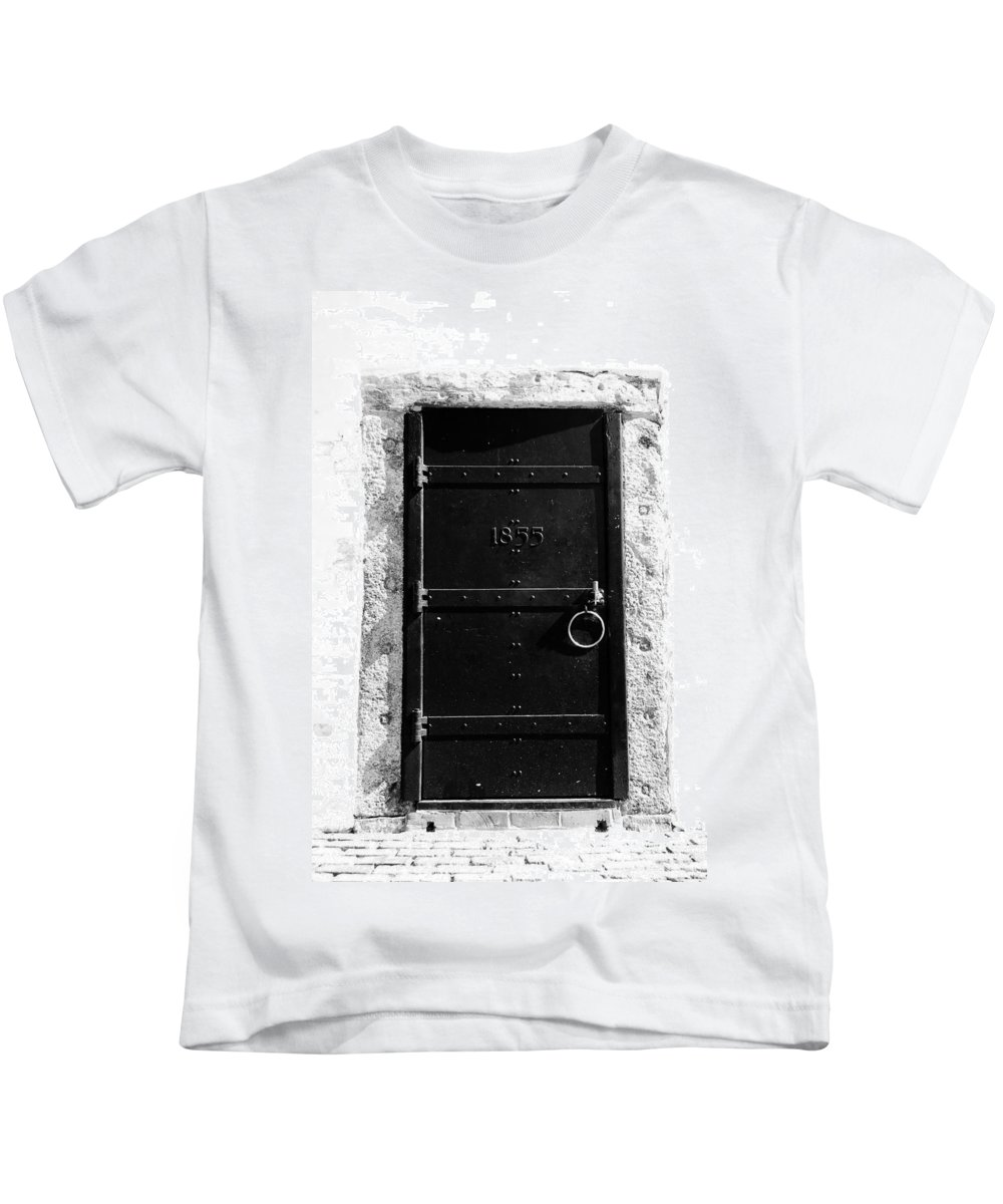 Fine Art Photography Kids T-Shirt featuring the photograph Door To Cape Florida by David Lee Thompson