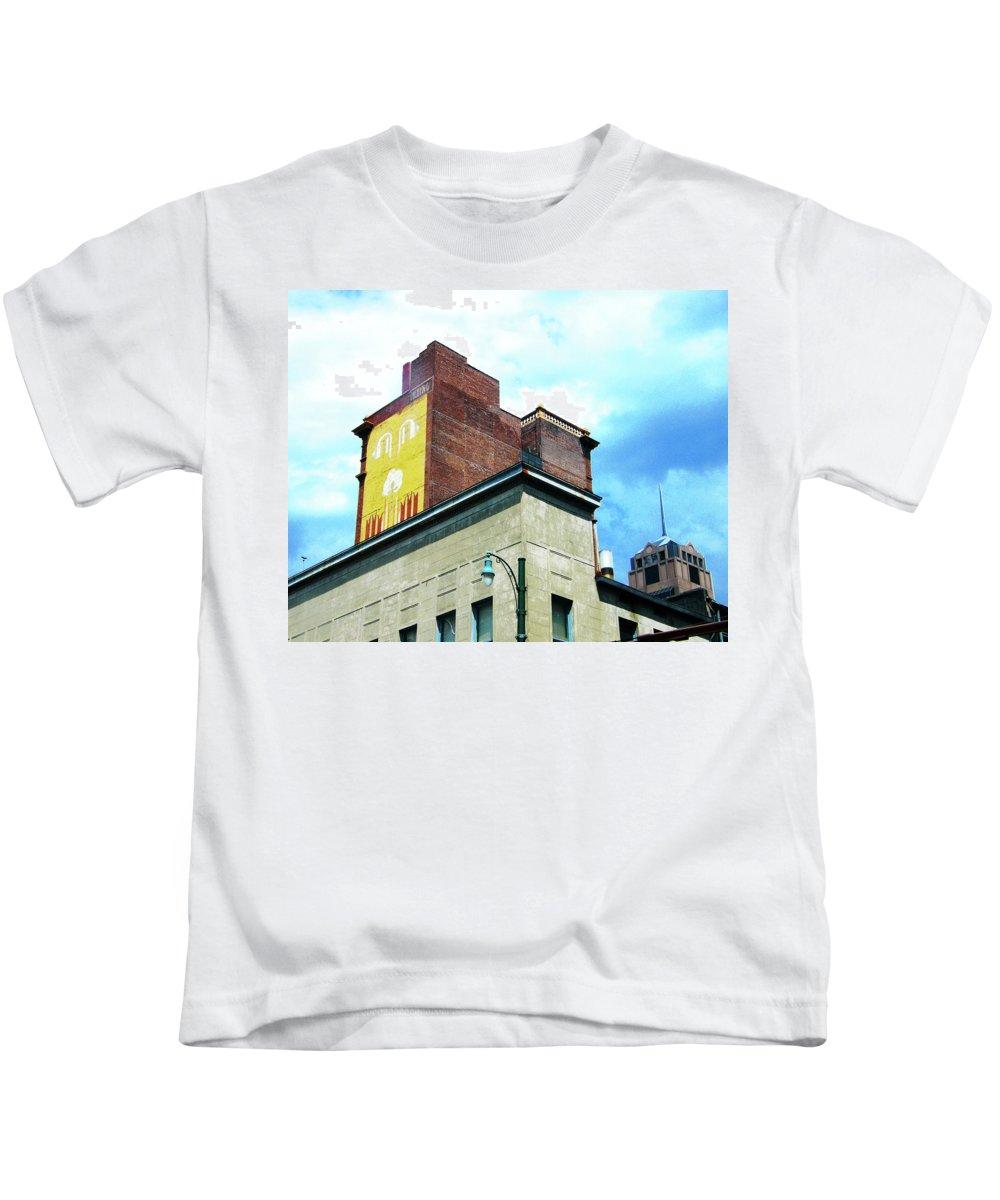 Downtown Kids T-Shirt featuring the photograph Downtown Memphis by Lizi Beard-Ward