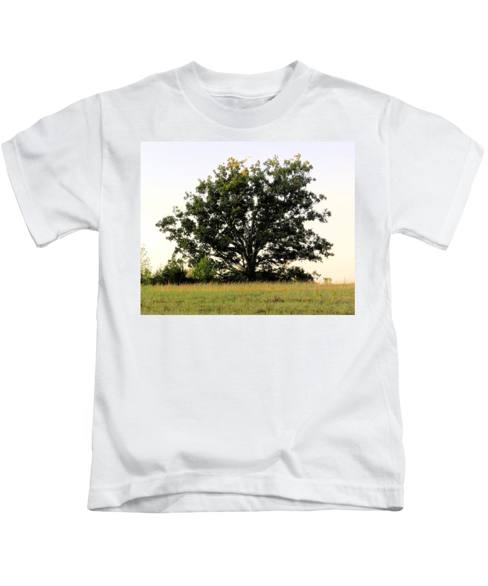 Landscape Kids T-Shirt featuring the photograph Dream Tree by Jennifer Stockman