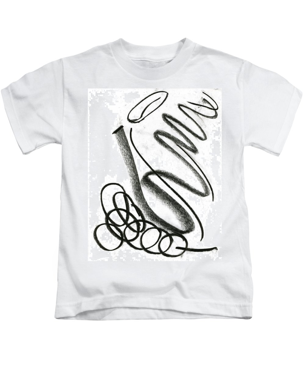 Extreme Adolescence Kids T-Shirt featuring the drawing Extreme Adolescence by Taylor Webb