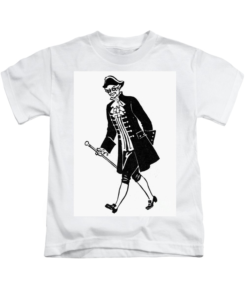 20th Century Kids T-Shirt featuring the photograph Father Knickerbocker by Granger