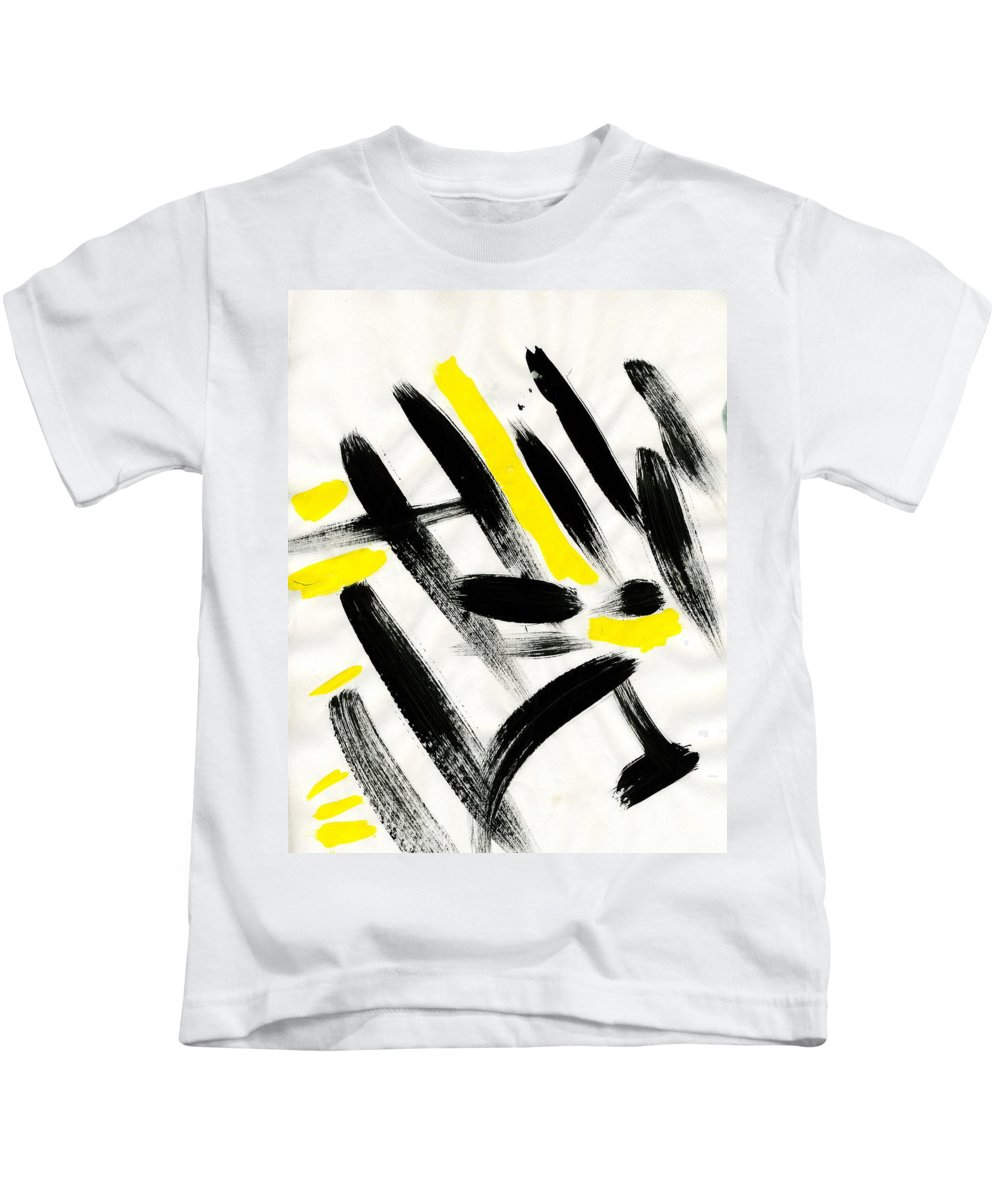 Flash Kids T-Shirt featuring the painting Flash by Taylor Webb