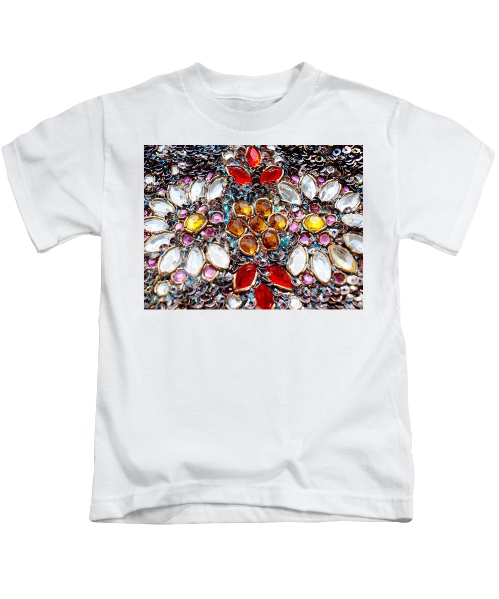 Blossoming Kids T-Shirt featuring the photograph Flower Of Beads by Sumit Mehndiratta
