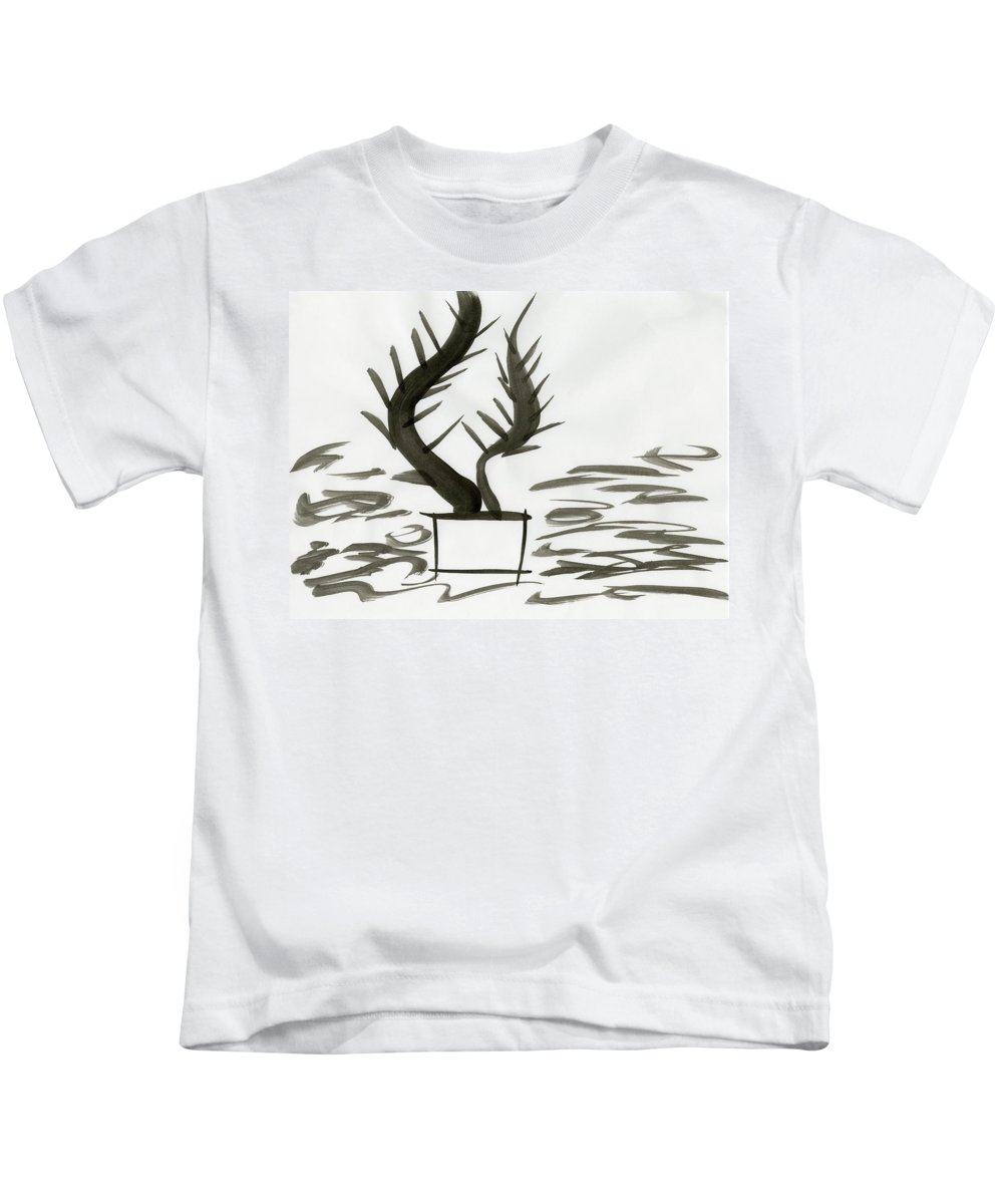 Force Of Life Kids T-Shirt featuring the painting Force Of Life by Taylor Webb