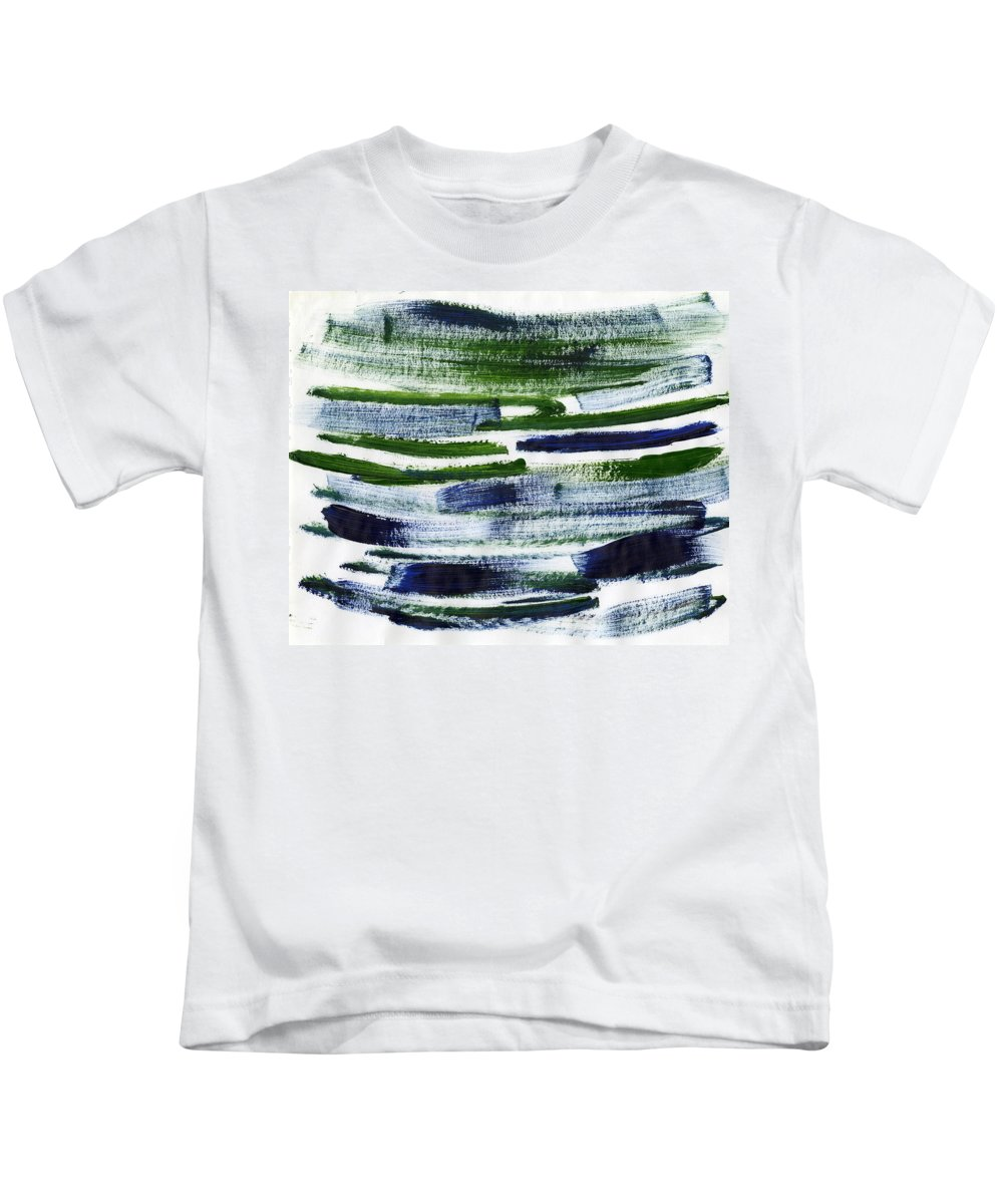 Genetic Destiny Kids T-Shirt featuring the painting Genetic Destiny by Taylor Webb