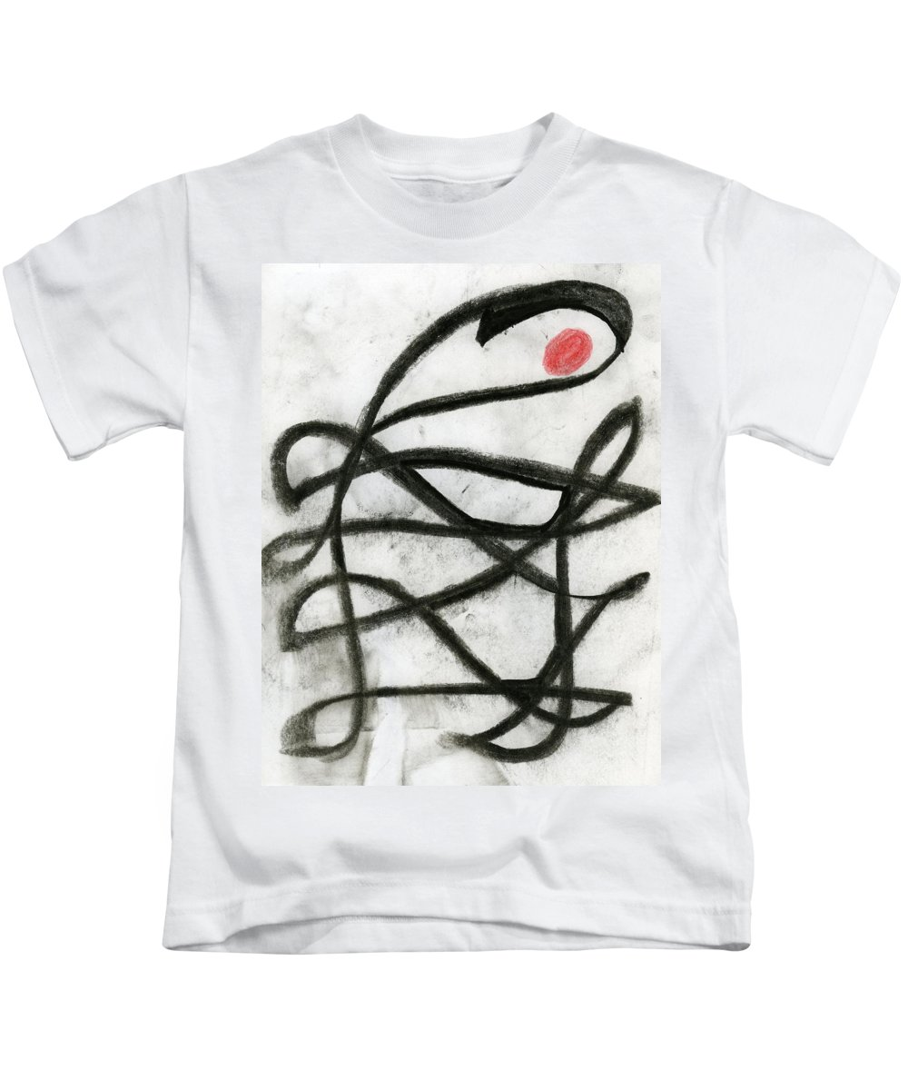 I Am There Kids T-Shirt featuring the painting I Am There by Taylor Webb