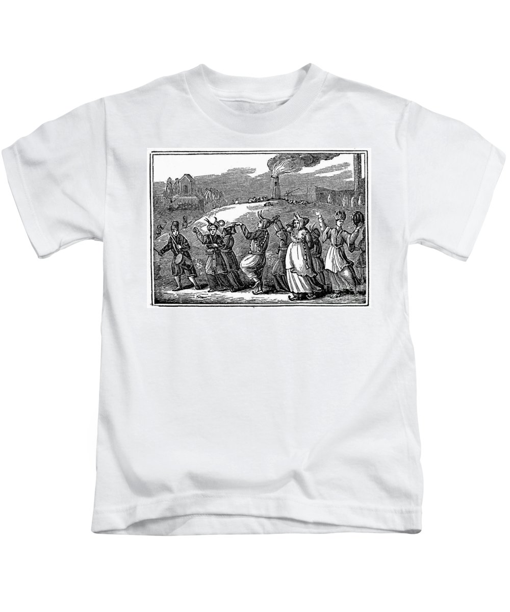19th Century Kids T-Shirt featuring the photograph Japan: Festival by Granger