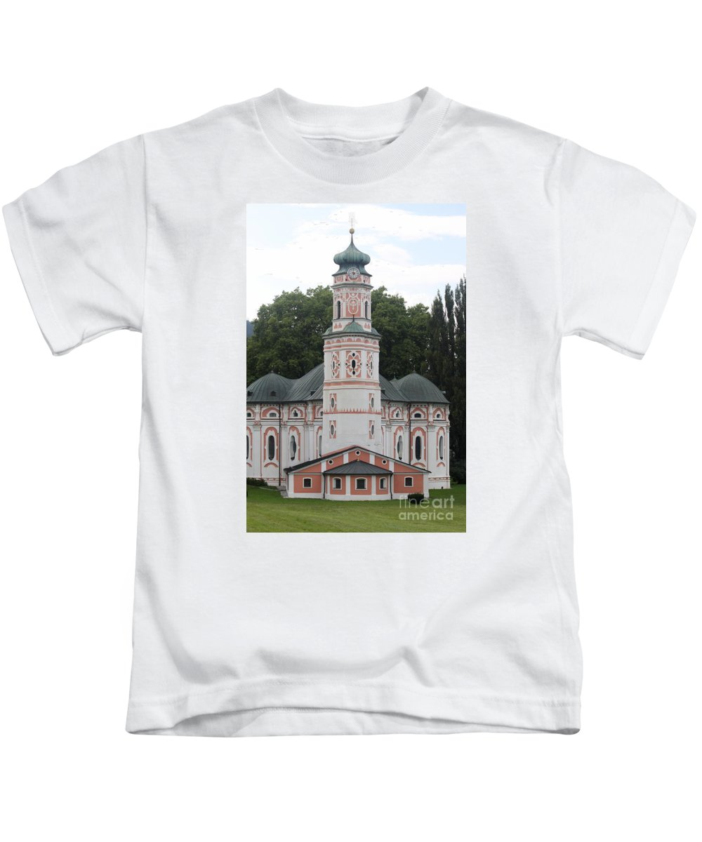 Karls Church Kids T-Shirt featuring the photograph Karls Church by Christiane Schulze Art And Photography