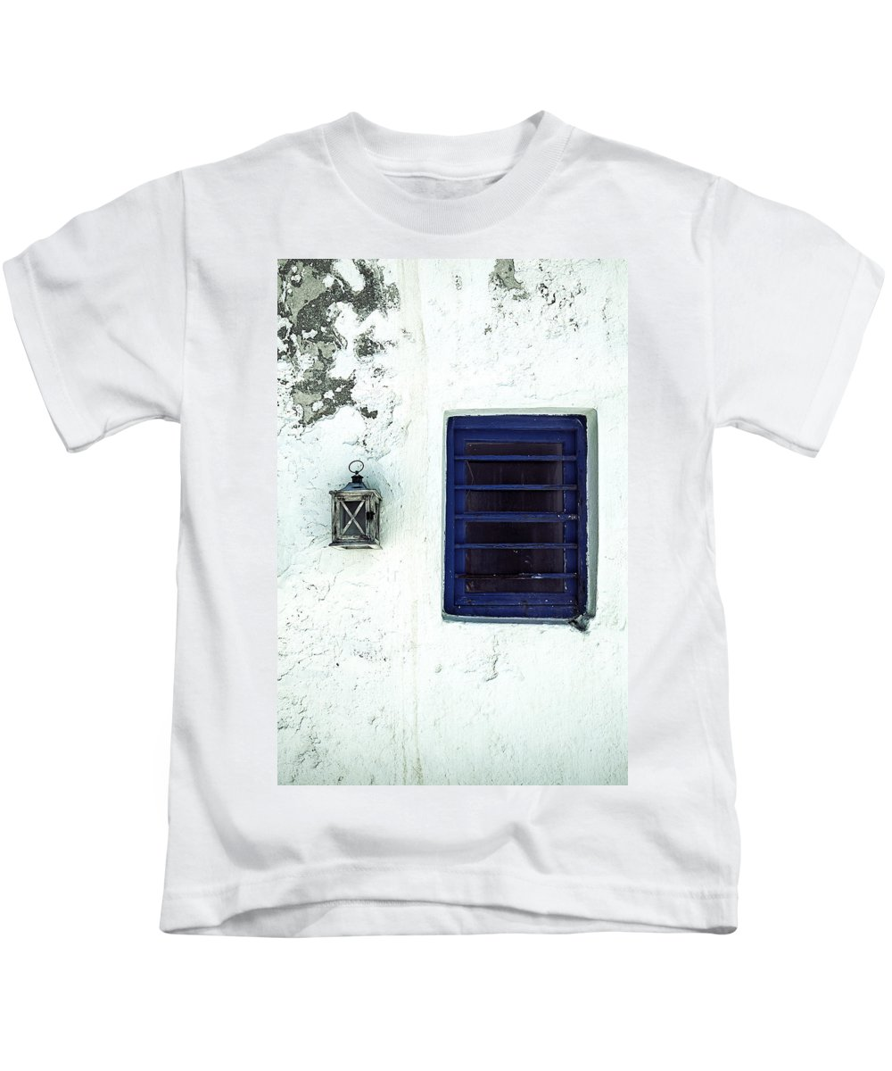 Lantern Kids T-Shirt featuring the photograph Lantern And Window by Joana Kruse