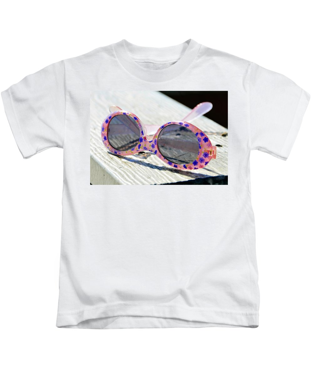 Fine Art Photography Kids T-Shirt featuring the photograph Left Behind by David Lee Thompson