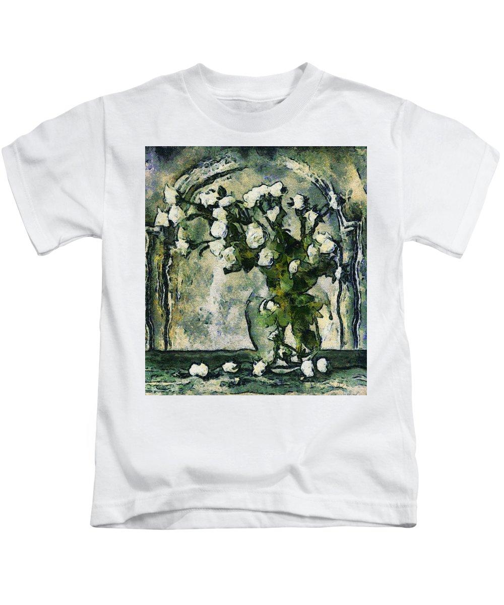 long Forgotten Kids T-Shirt featuring the Long Forgotten by Georgiana Romanovna