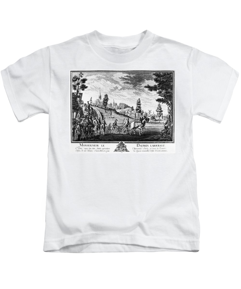 1769 Kids T-Shirt featuring the photograph Louis, Dauphin Of France by Granger