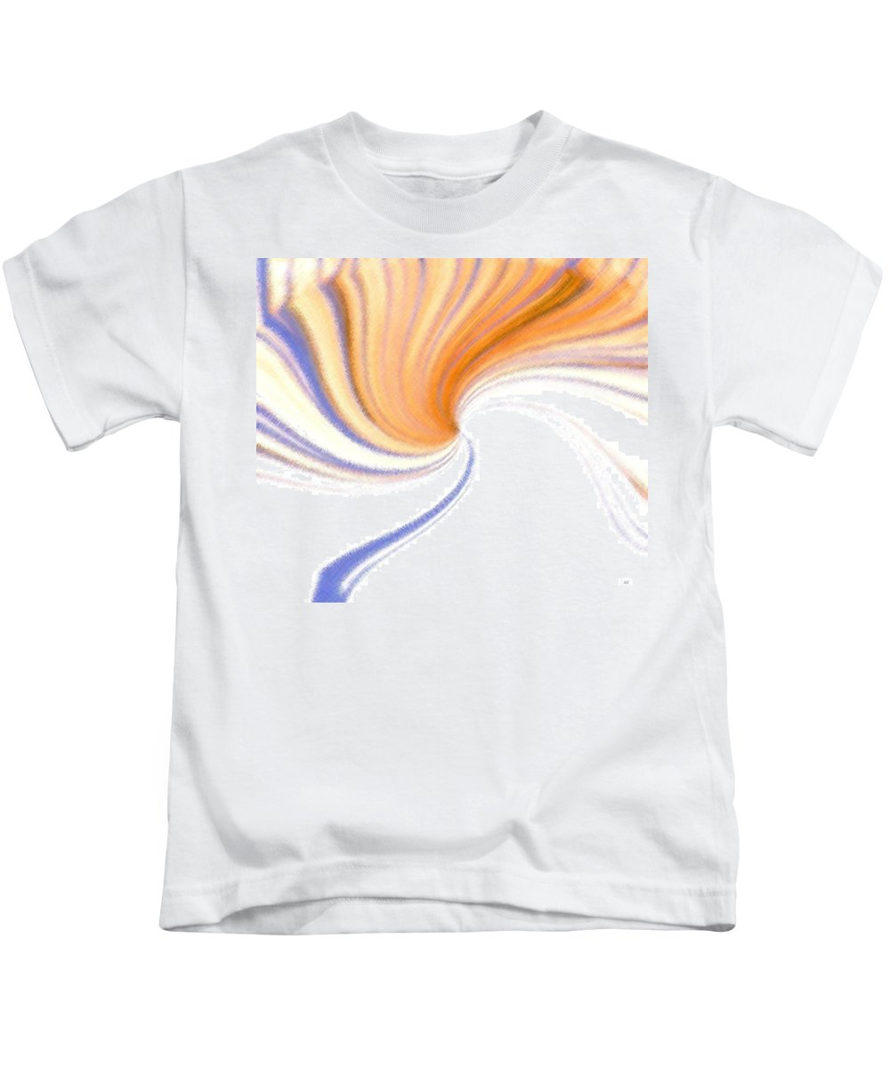 Micro Linear Kids T-Shirt featuring the digital art Micro Linear 24 by Will Borden