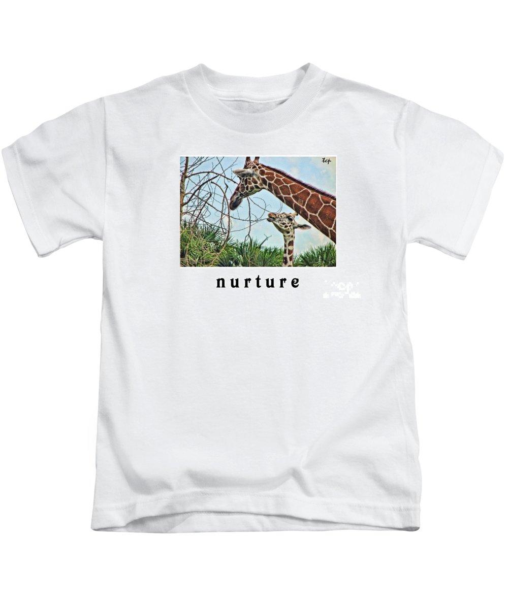Nurture Kids T-Shirt featuring the photograph Nurture by Traci Cottingham