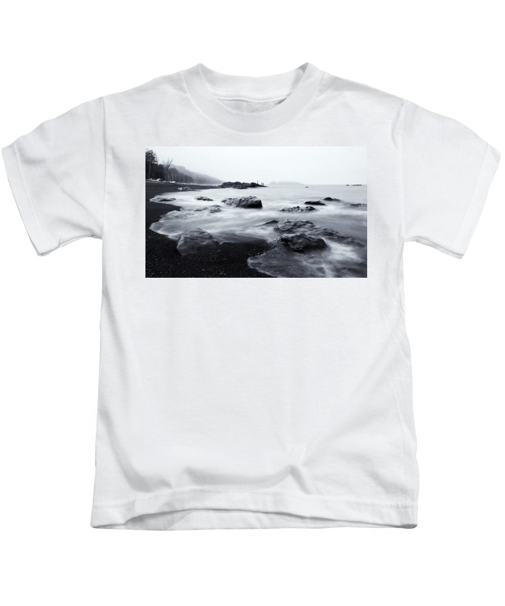 Sea Kids T-Shirt featuring the photograph Ocean Alive by Mike Dawson